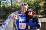 Me and my sister (who took care of me after the race!)