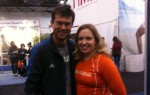 Me and Sarah Stanley at the Expo