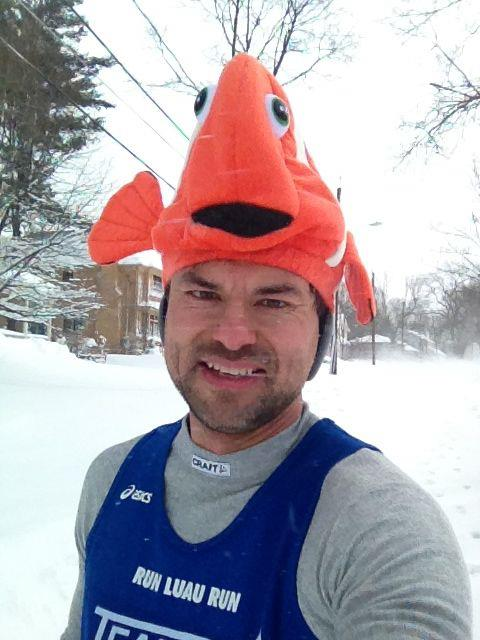 After 5 miles during Nemo...