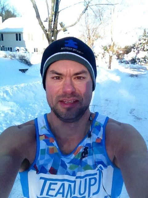 Day 41 - Post-Nemocalyptic Run in 9° temps