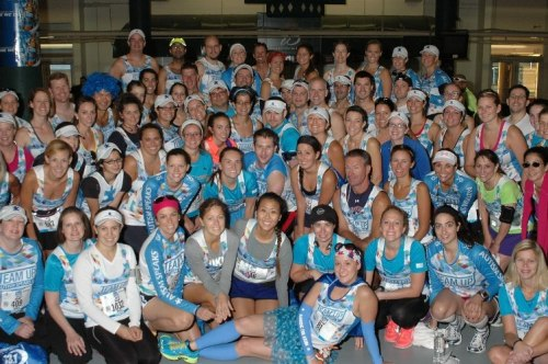 Team Up with Autism Speaks - Boston 13.1 2012 - where's Luau?
