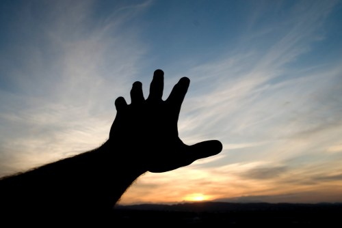 grasping for hope...