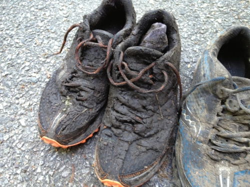 and these are relatively clean compared to how they looked during the race....