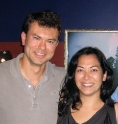 Me and a fellow Hapa - not quite White...not quite Asian