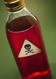 Poison-bottle